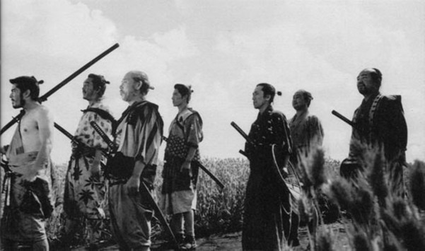 Image result for seven samurai